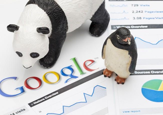 Seo Google Penguin e Panda
