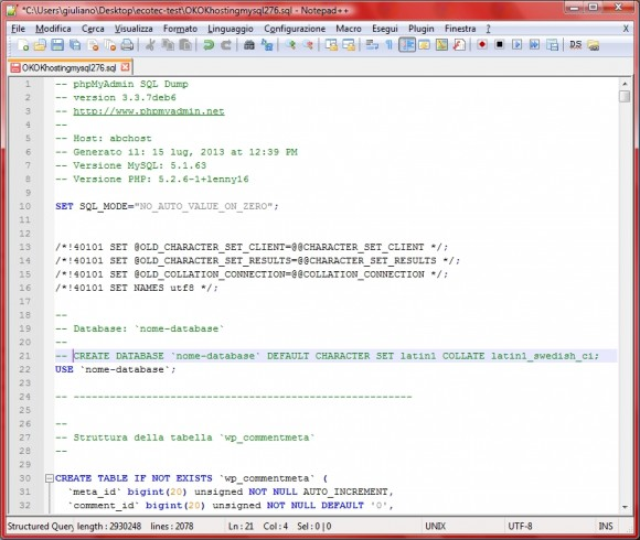 post-modifica-database-mysql-wordpress-fabiocammisa